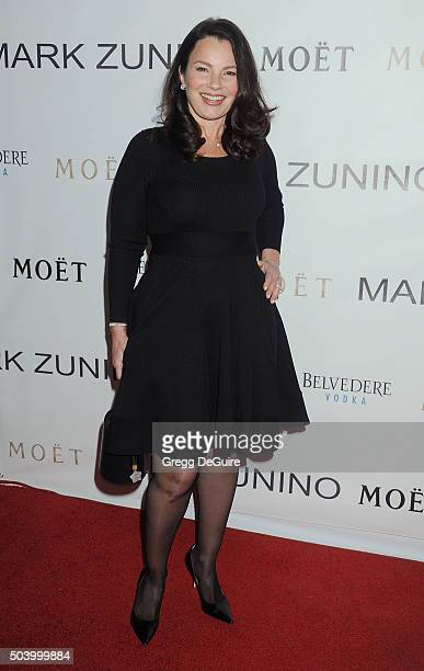 Actress Fran Drescher arrives at the Mark Zunino Atelier Opening at Mark Zunino Atelier on January 7 2016 in Beverly Hills California