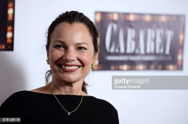 Actress Fran Drescher arrives at the opening of 'Cabaret' at the Hollywood Pantages Theatre on July 20 2016 in Hollywood California
