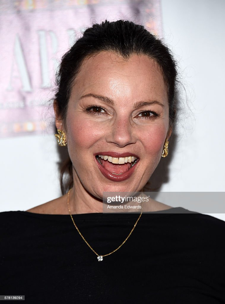 Actress Fran Drescher arrives at the opening of 'Cabaret' at the Hollywood Pantages Theatre on July 20, 2016 in Hollywood, California.