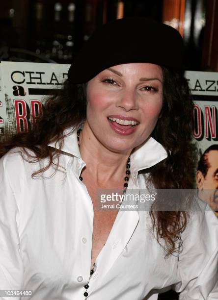 Actress Fran Drescher at the afterparty for the opening night Broadway Production of A Bronx Tale at Bond 45 on October 25 2007 in New York City