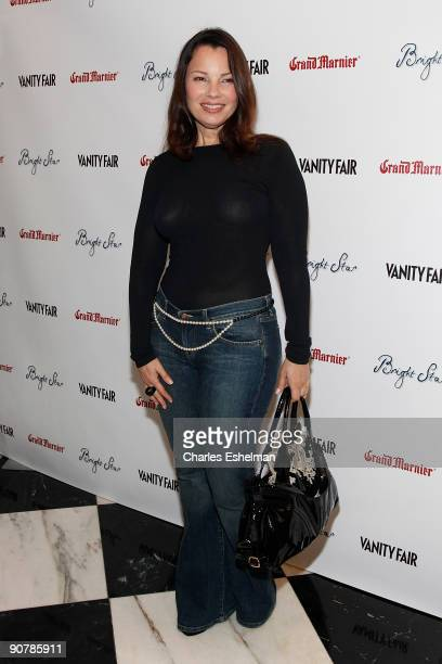 Actress Fran Drescher attends Apparition and Vanity Fair's US rremiere Of 'Bright Star' at The Paris Theatre on September 14 2009 in New York City