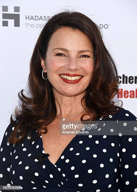 Actress Fran Drescher attends Fran Drescher's Cancer Schmancer 2015 Women's Health Summit at the Skirball Cultural Center on October 13 2015 in Los...