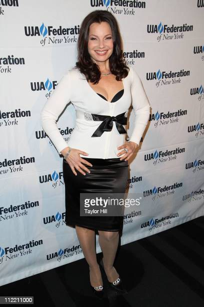 Actress Fran Drescher attends the 2011 UJAFederation of New York's Broadcast Cable and Video award celebration at The Edison Ballroom on April 14...