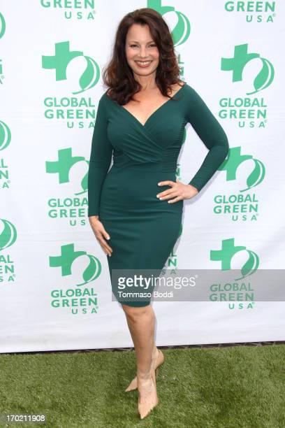 Actress Fran Drescher attends the Global Green USA's Annual Millennium Awards held at Fairmont Miramar Hotel on June 8 2013 in Santa Monica California
