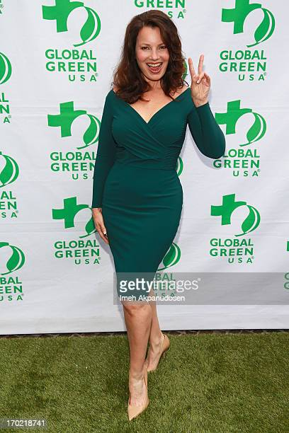 Actress Fran Drescher attends the Global Green USA's Annual Millennium Awards at Fairmont Miramar Hotel on June 8 2013 in Santa Monica California