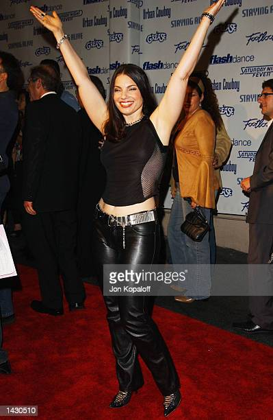 Actress Fran Drescher from the movie Saturday Night Fever attends the Celebration of Paramount Studio's 90th Anniversary with the release of six...