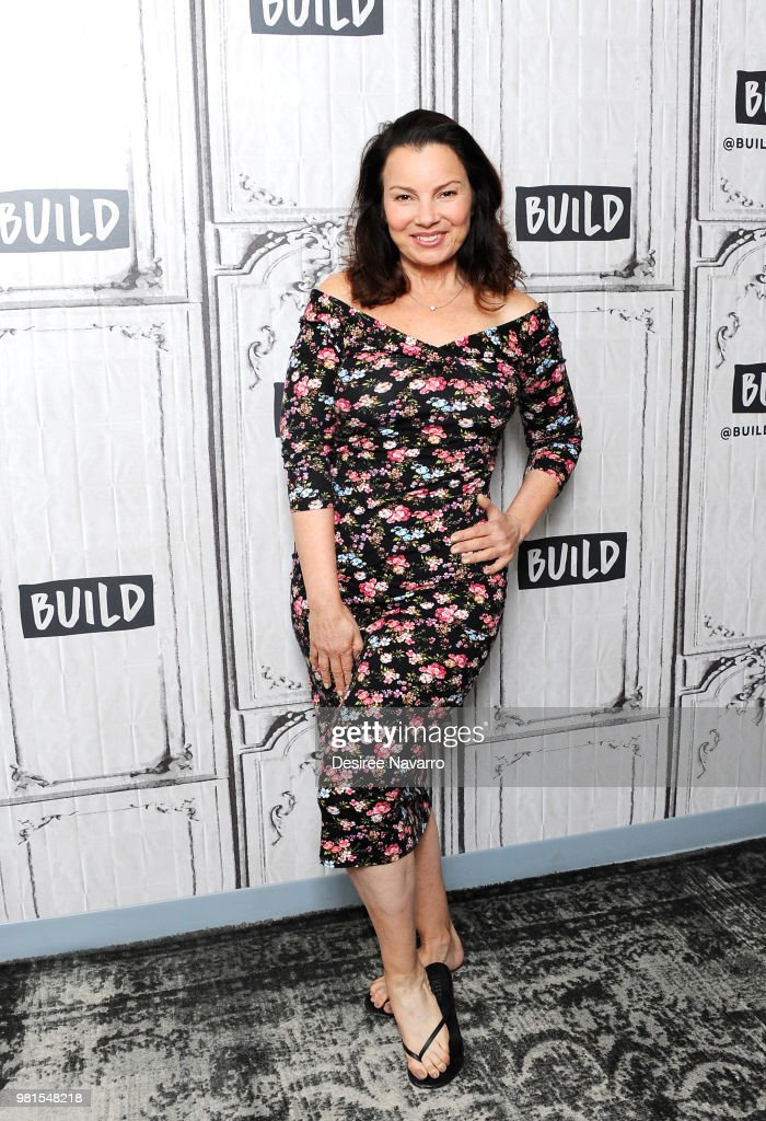Actress Fran Drescher visits Build Series to discuss 'Hotel Transylvania 3: Summer Vacation' at Build Studio on June 22, 2018 in New York City.
