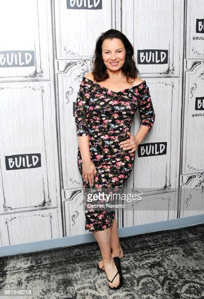 Actress Fran Drescher visits Build Series to discuss 'Hotel Transylvania 3 Summer Vacation' at Build Studio on June 22 2018 in New York City