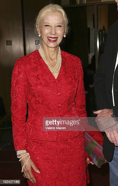 Actress France Nuyen attends AMPAS Screening Of Restored 70mm Print Of South Pacific on June 25 2010 in Beverly Hills California