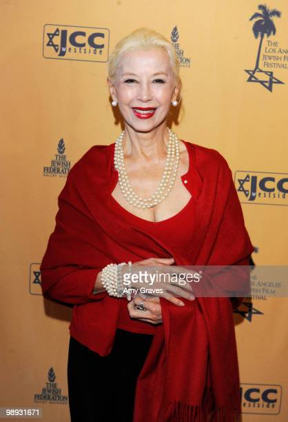Actress France Nuyen attends the Los Angeles Jewish Film Festival Opening Night Gala on May 8 2010 in Los Angeles California