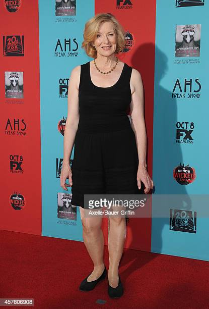 Actress Frances Conroy arrives at the Los Angeles premiere of 'American Horror Story Freak Show' at TCL Chinese Theatre IMAX on October 5 2014 in...
