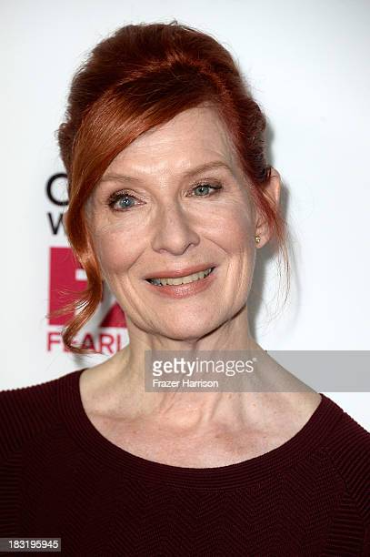 Actress Frances Conroy arrives at the premiere of FX's 'American Horror Story Coven' at Pacific Design Center on October 5 2013 in West Hollywood...