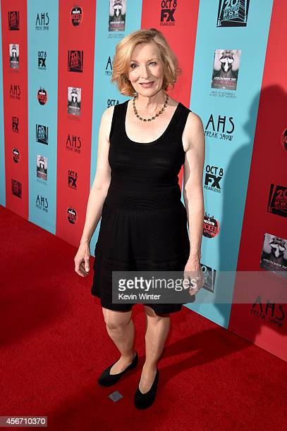 Actress Frances Conroy attends the premiere screening of FX's 'American Horror Story Freak Show' at TCL Chinese Theatre on October 5 2014 in...