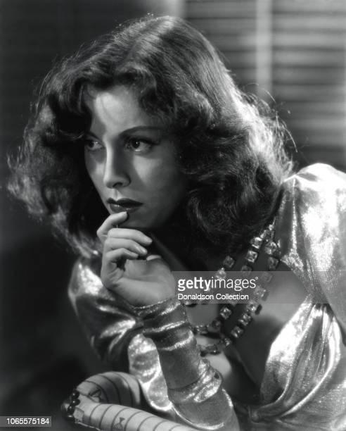 Actress Frances Dee in a scene from the movie A Man Betrayed