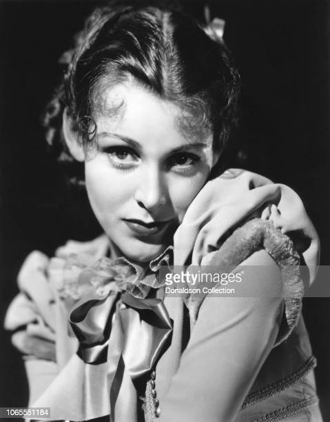 Actress Frances Dee in a scene from the movie Becky Sharp