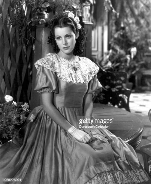 Actress Frances Dee in a scene from the movie Little Women