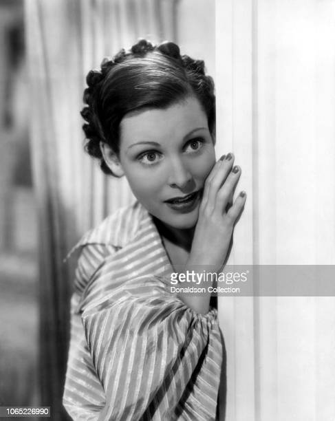 Actress Frances Dee in a scene from the movie The Gay Deception