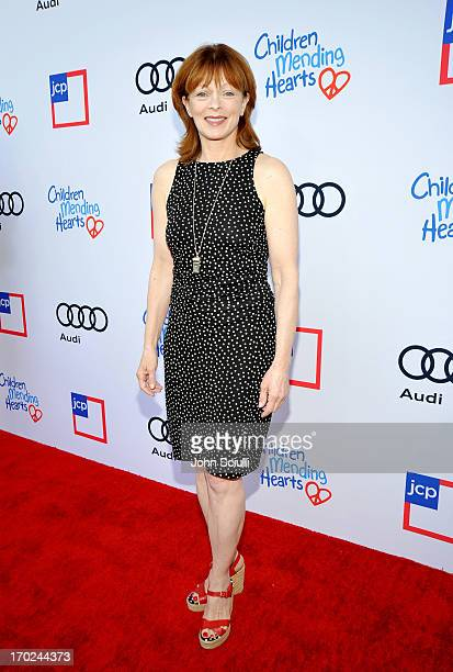 Actress Frances Fisher arrives at the 1st Annual Children Mending Hearts Style Sunday on June 9 2013 in Beverly Hills California