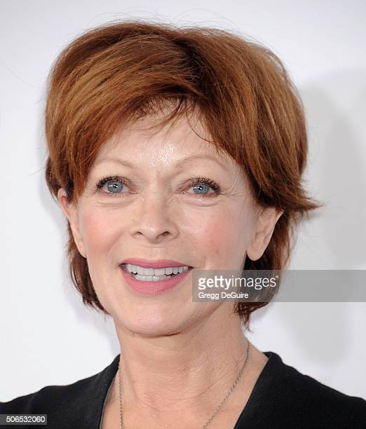 Actress Frances Fisher arrives at the 27th Annual Producers Guild Awards at the Hyatt Regency Century Plaza on January 23 2016 in Century City...
