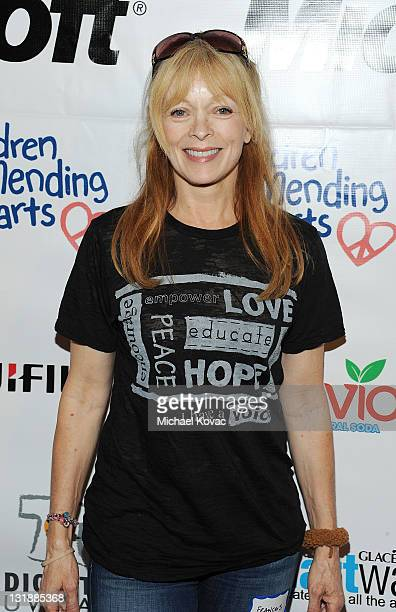 Actress Frances Fisher arrives at the 4th Annual Please Mr President Workshop Hosted By Children Mending Hearts on May 7 2011 in Watts California