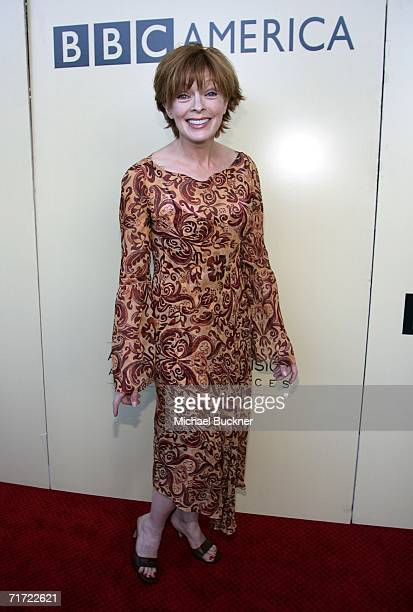 Actress Frances Fisher arrives at the BAFTA/LAAcademy of Television Arts and Sciences Tea Party at the Century Hyatt on August 26 2006 in Century...