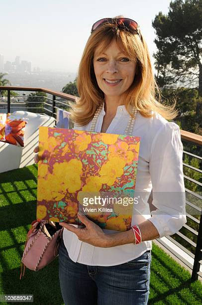 Actress Frances Fisher attends 4th Annual Eco Emmys Celebrity Chateau Day 2 on August 27 2010 in Los Angeles California