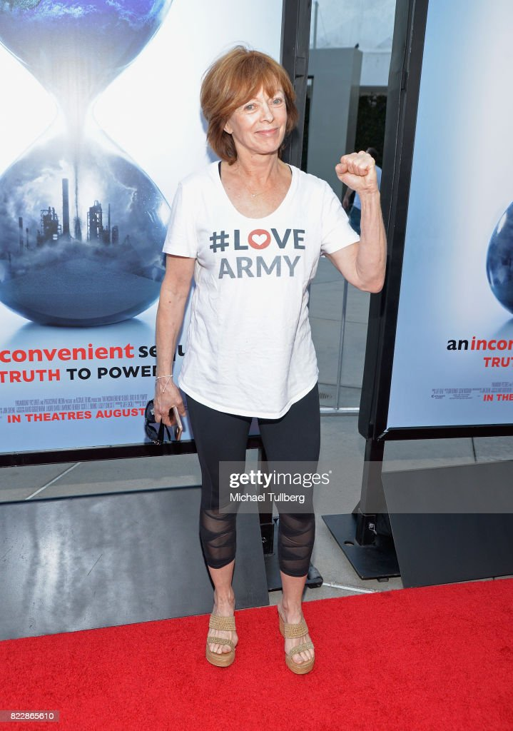 Actress Frances Fisher attends a screening of Paramount Pictures' 'An Inconvenient Sequel: Truth To Power' at ArcLight Hollywood on July 25, 2017 in Hollywood, California.