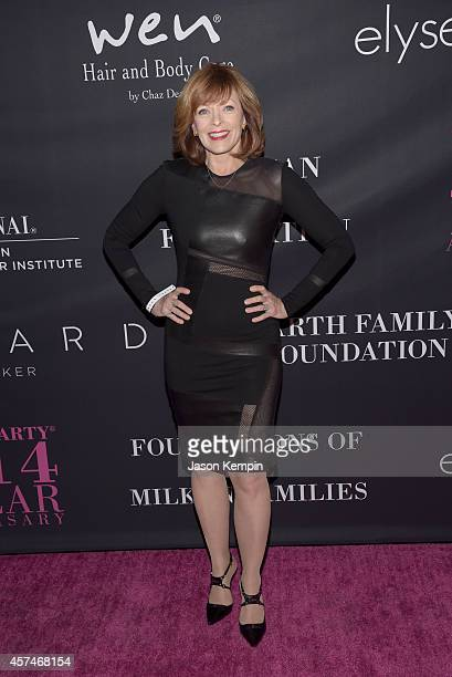 Actress Frances Fisher attends Elyse Walker presents the 10th anniversary Pink Party hosted by Jennifer Garner and Rachel Zoe at HANGAR8 on October...