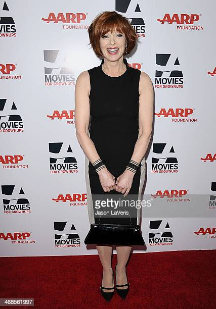 Actress Frances Fisher attends the 13th annual AARP's Movies For Grownups Awards gala at Regent Beverly Wilshire Hotel on February 10 2014 in Beverly...