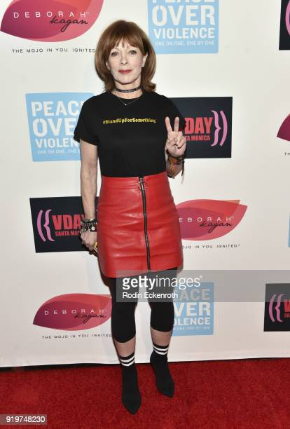 Actress Frances Fisher attends the 20th Anniversary of VDay at The Broad Stage on February 17 2018 in Santa Monica California