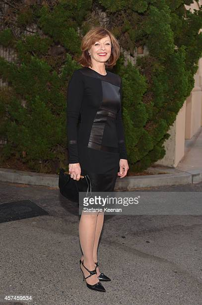 Actress Frances Fisher attends the 24th Annual Environmental Media Awards presented by Toyota and Lexus at Warner Bros Studio on October 18 2014 in...