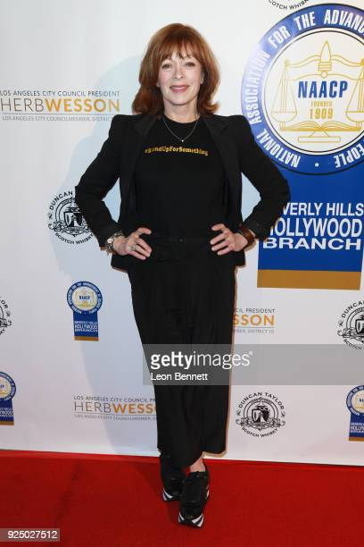 Actress Frances Fisher attends the 27th Annual NAACP Theatre Awards at Millennium Biltmore Hotel on February 26 2018 in Los Angeles California