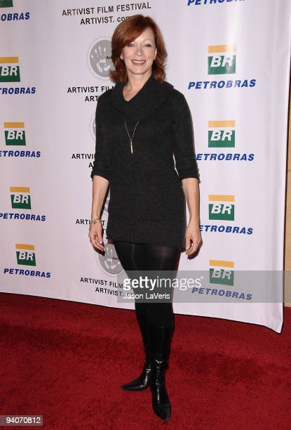 Actress Frances Fisher attends the 6th annual Artivist Film Festival Awards at the Egyptian Theatre on December 5 2009 in Hollywood California