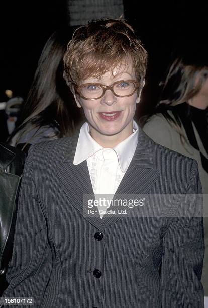 Actress Frances Fisher attends the 'Amistad' Beverly Hills Premiere on December 8 1997 at Samuel Goldwyn Theatre in Beverly Hills California