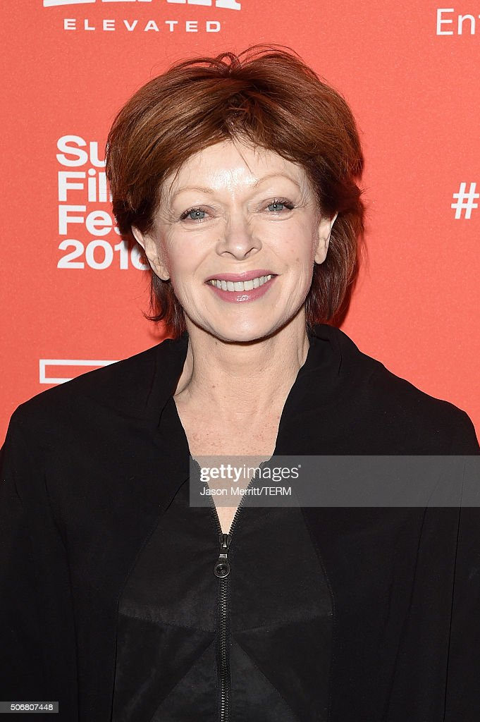 Actress Frances Fisher attends the 'Outlaws & Angels' Premiere during the 2016 Sundance Film Festival at Library Center Theater on January 25, 2016 in Park City, Utah.