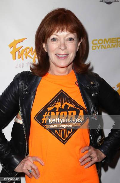 Actress Frances Fisher attends the premiere of Comedy Dynamics' The Fury of the Fist and the Golden Fleece at Laemmle's Music Hall 3 on May 24 2018...