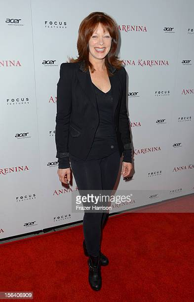 Actress Frances Fisher attends the premiere of Focus Features' Anna Karenina held at ArcLight Cinemas on November 14 2012 in Hollywood California