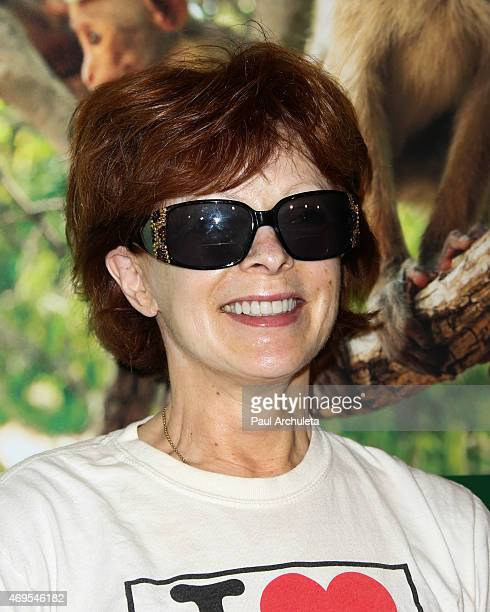 Actress Frances Fisher attends the premiere of Monkey Kingdom at the Pacific Theaters at the Grove on April 12 2015 in Los Angeles California