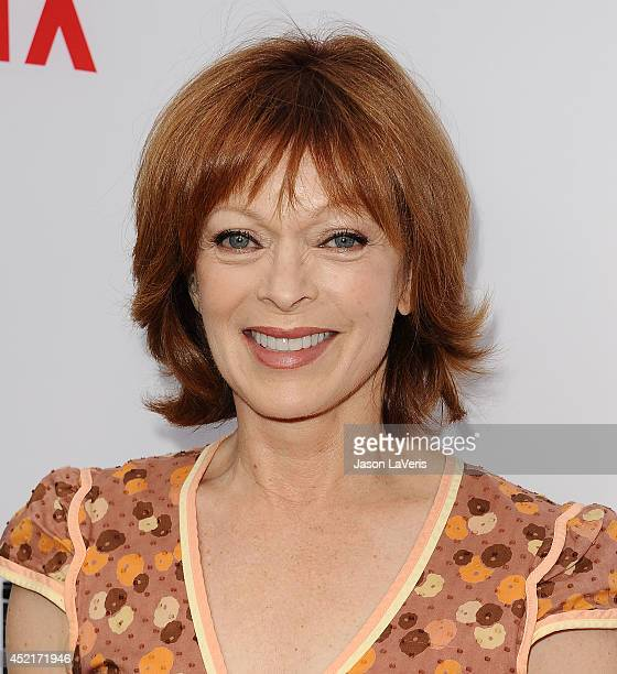 Actress Frances Fisher attends the season 4 premiere of The Killing at ArcLight Hollywood on July 14 2014 in Hollywood California
