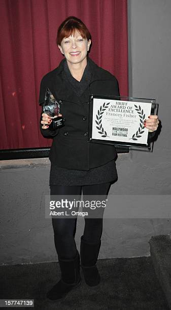 Actress Frances Fisher attends the The 9th Annual Hollywood Reel Independent Film Festival held at The New Beverly Theater on December 5 2012 in Los...