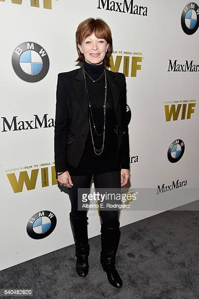 Actress Frances Fisher attends Women In Film 2016 Crystal Lucy Awards Presented by Max Mara and BMW at The Beverly Hilton on June 15 2016 in Beverly...