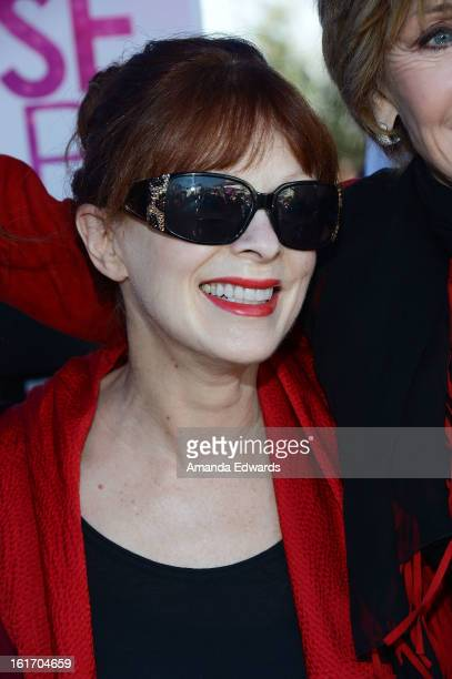 Actress Frances Fisher helps kick-off One Billion Rising on February 14, 2013 in West Hollywood, California.