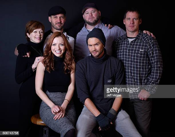 Actress Frances Fisher, writer/director J.T. Mollner, actors Keith Loneker and Ben Browder actress Francesca Eastwood and actor Chad Michael Murray...