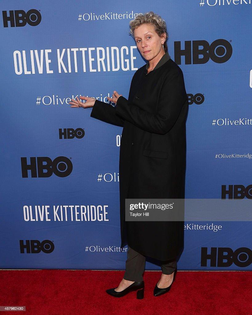 """Olive Kitteridge"" New York Premiere"