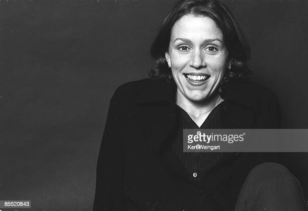 Actress Frances McDormand poses for a portrait in 1994 in New York City New York