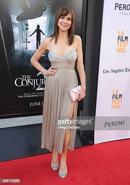 Actress Frances O'Connor arrives at the 2016 Los Angeles Film Festival The Conjuring 2 Premiere at TCL Chinese Theatre IMAX on June 7 2016 in...
