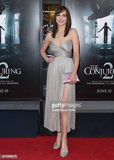 Actress Frances O'Connor arrives at the 2016 Los Angeles Film Festival 'The Conjuring 2' Premiere at TCL Chinese Theatre IMAX on June 7 2016 in...