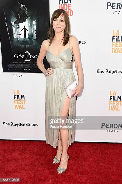 Actress Frances O'Connor attends the premiere of The Conjuring 2 during the 2016 Los Angeles Film Festival at TCL Chinese Theatre IMAX on June 7 2016...