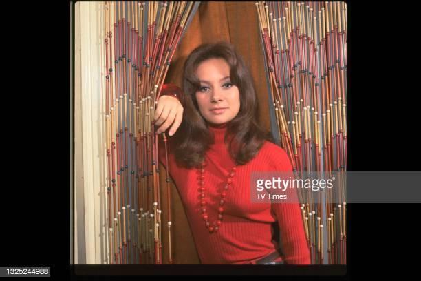 Actress Francesca Annis, circa 1965.