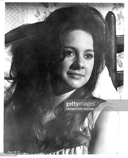 """Actress Francesca Annis on the set of the movie """"Murder Most Foul"""" in 1964."""